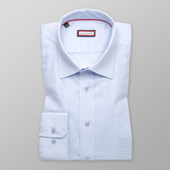 Men's slim fit shirt with fine pattern (height 176-182) 9603