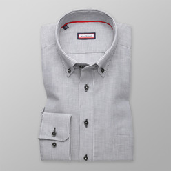 Men's classic shirt with strips (height 176-182) 9606