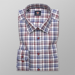 Men's checkered slim fit London shirt  (height 176-182) 9611