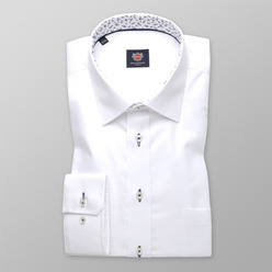Men's white London shirt (height 176-182) 9618