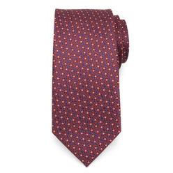 Classic tie with fine floral pattern 9625, Willsoor