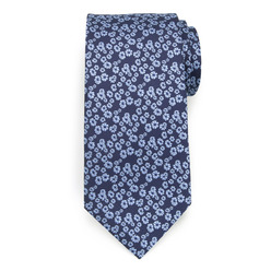 Classic tie with fine floral pattern 9627, Willsoor