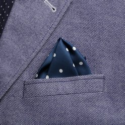 Dotted pocket square 9628, Willsoor