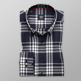London shirt with check pattern (all size) 9728