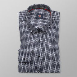London shirt with geometric pattern (all size) 9729