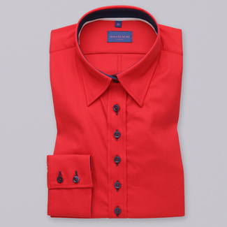Women's red shirt Willsoor 9771
