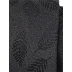 Men's graphite silk tie 9783, Willsoor
