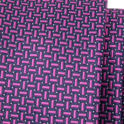 Men's narrow tie with geometric pattern 9805, Willsoor