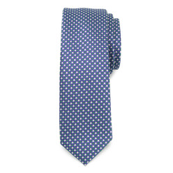 Men's narrow tie with fine pattern 9810, Willsoor