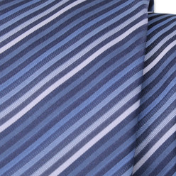 Narrow striped tie 9819, Willsoor