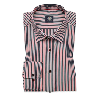 Slim fit shirt with strips (height 164-170) 9821