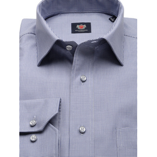 London shirt with houndstooth pattern (height 198-204) 9895, Willsoor