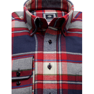 Classic shirt with check pattern (height 176-182 a 188-194) 9913