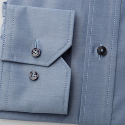 London shirt with contrast buttons (height 176-182) 9922, Willsoor