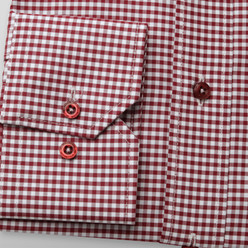 London shirt with gingham pattern (height 176-182) 9930, Willsoor