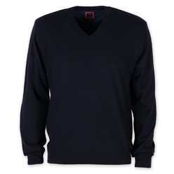 Men's sweater in dark blue 9944, Willsoor