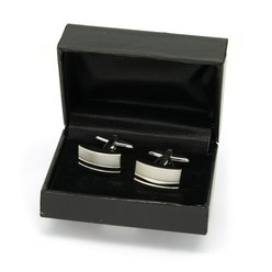Cufflinks with smooth polished surface 9960, Willsoor