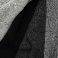 Scarf in shades of grey, graphite and black 9972, Willsoor