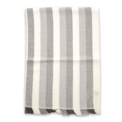 Wool scarf with striped pattern 9978, Willsoor
