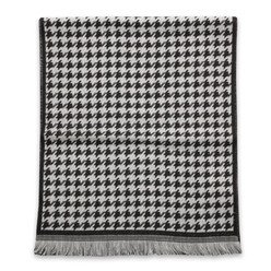 Wool scarf houndstooth 9980, Willsoor