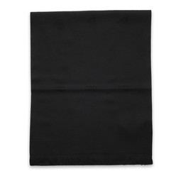 Wool scarf black 9981, Willsoor