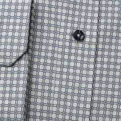 Classic shirt with dark blue pattern (height 176-182 and 188-194) 9998, Willsoor